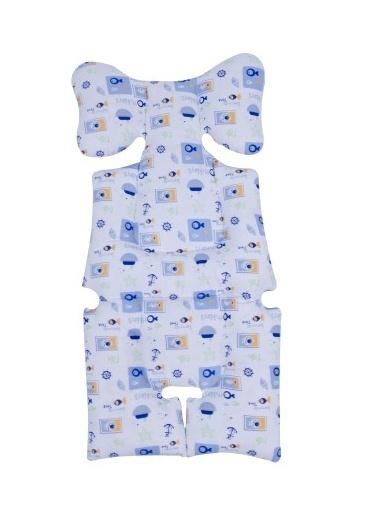 Sevi Bebe Sevi Bebe Puset Ve Oto Koltuğu Minderi  Mavi